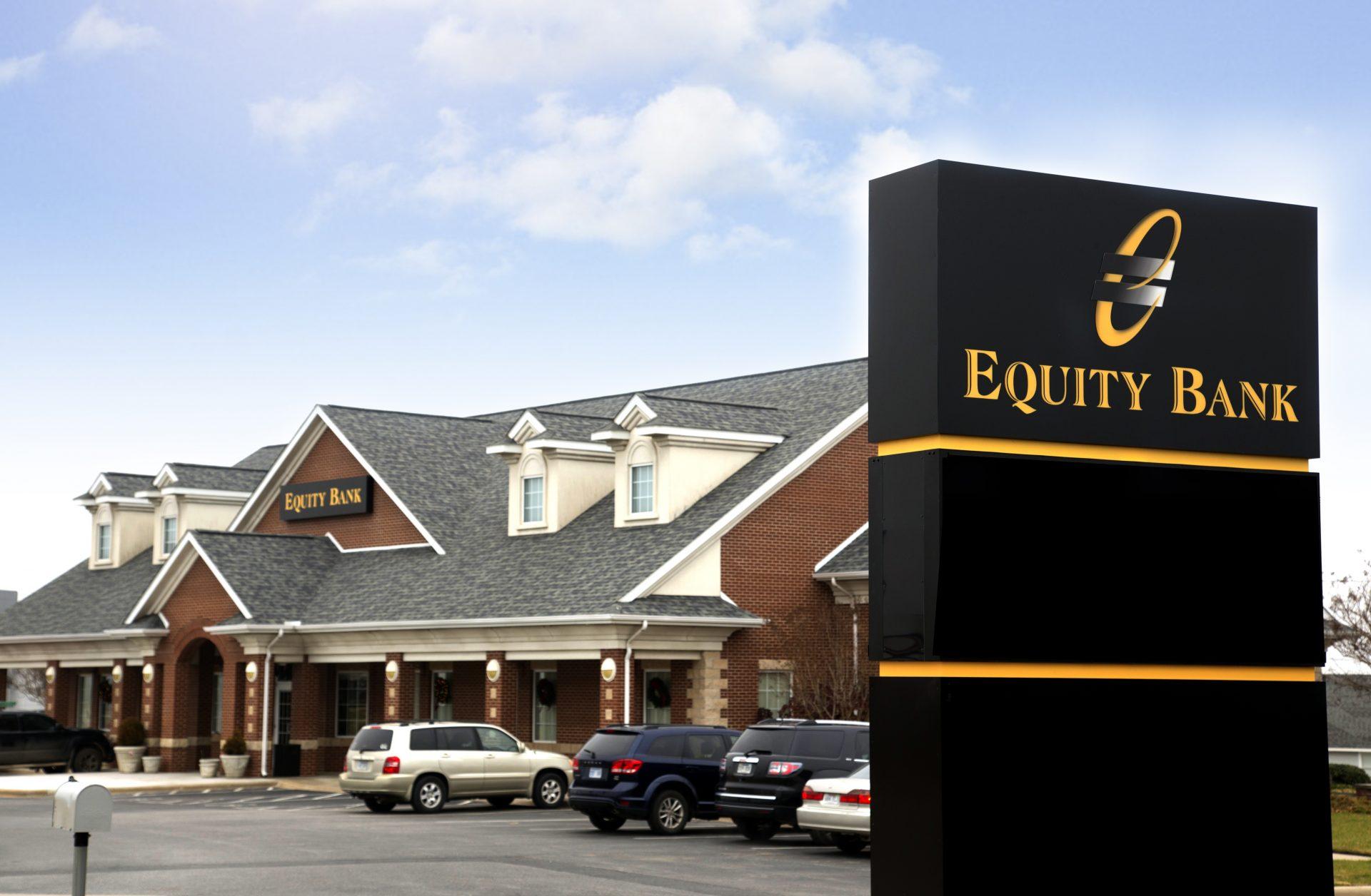 Equity Bank Berryville branch exterior.
