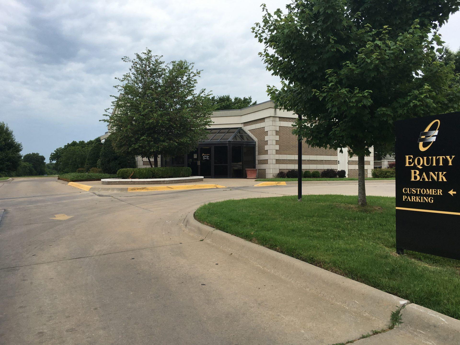 Equity Bank Coffeyville branch exterior.