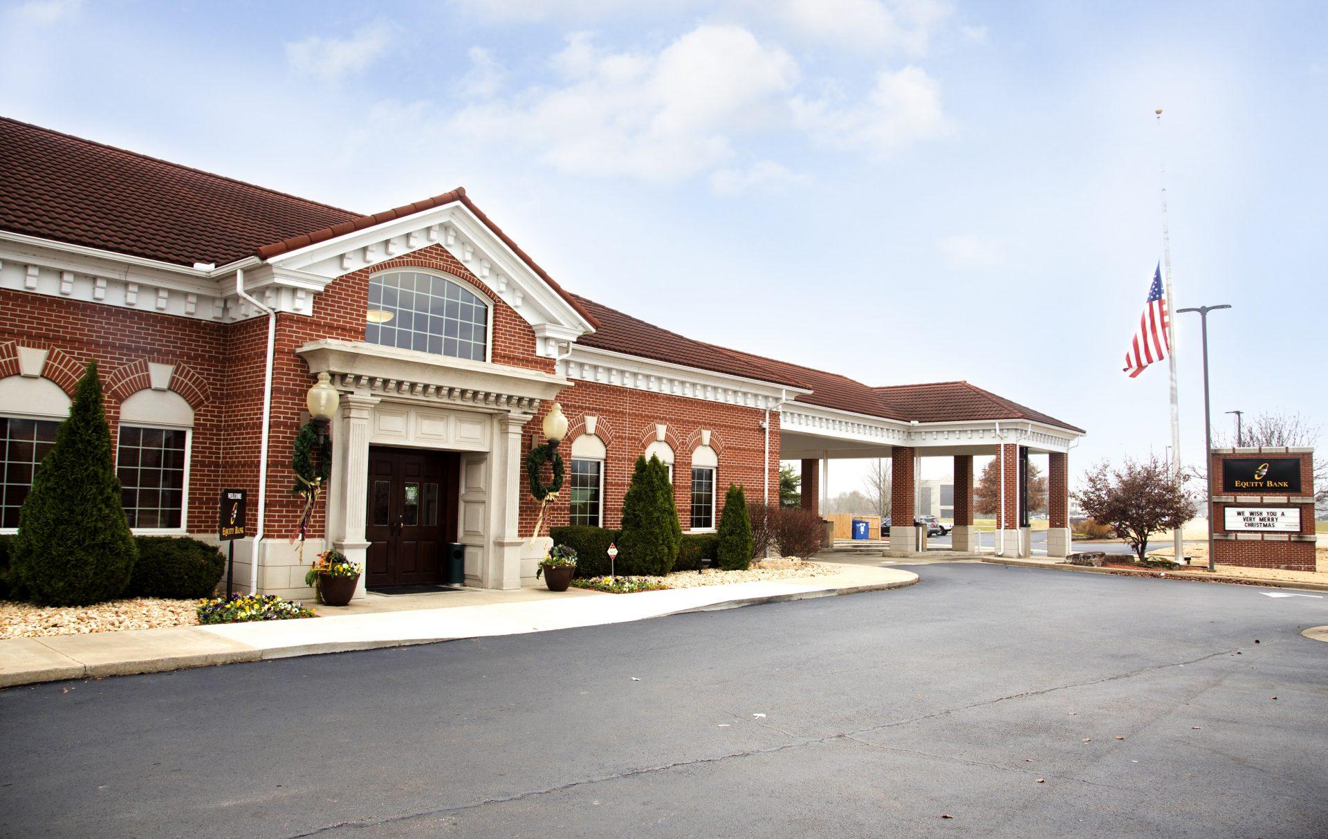 Equity Bank Eureka Springs branch exterior.