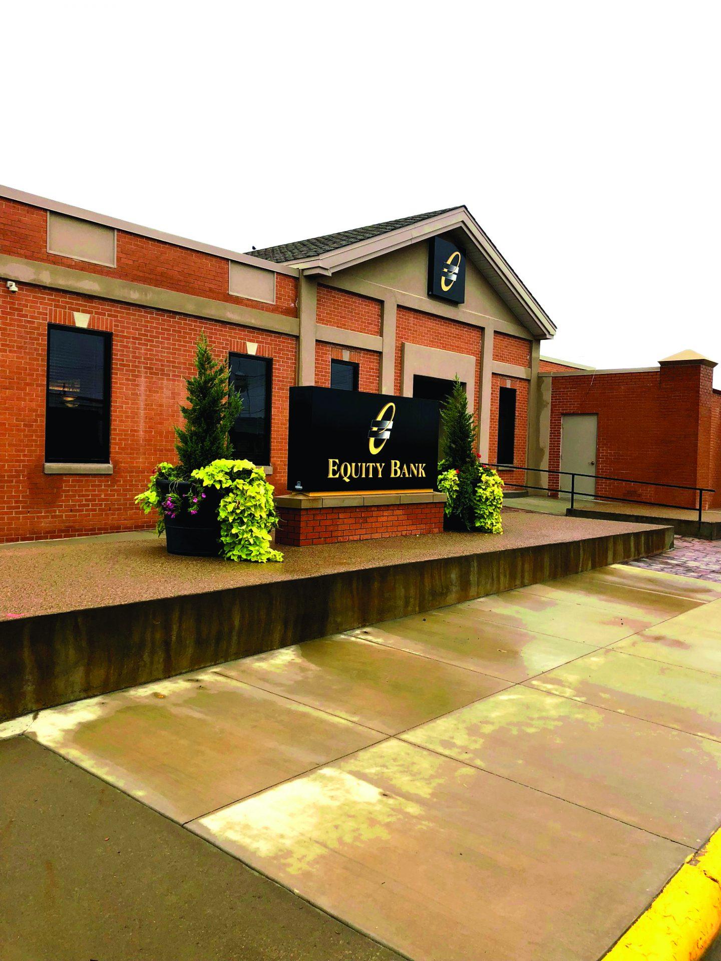 Equity Bank Guymon Main branch exterior.