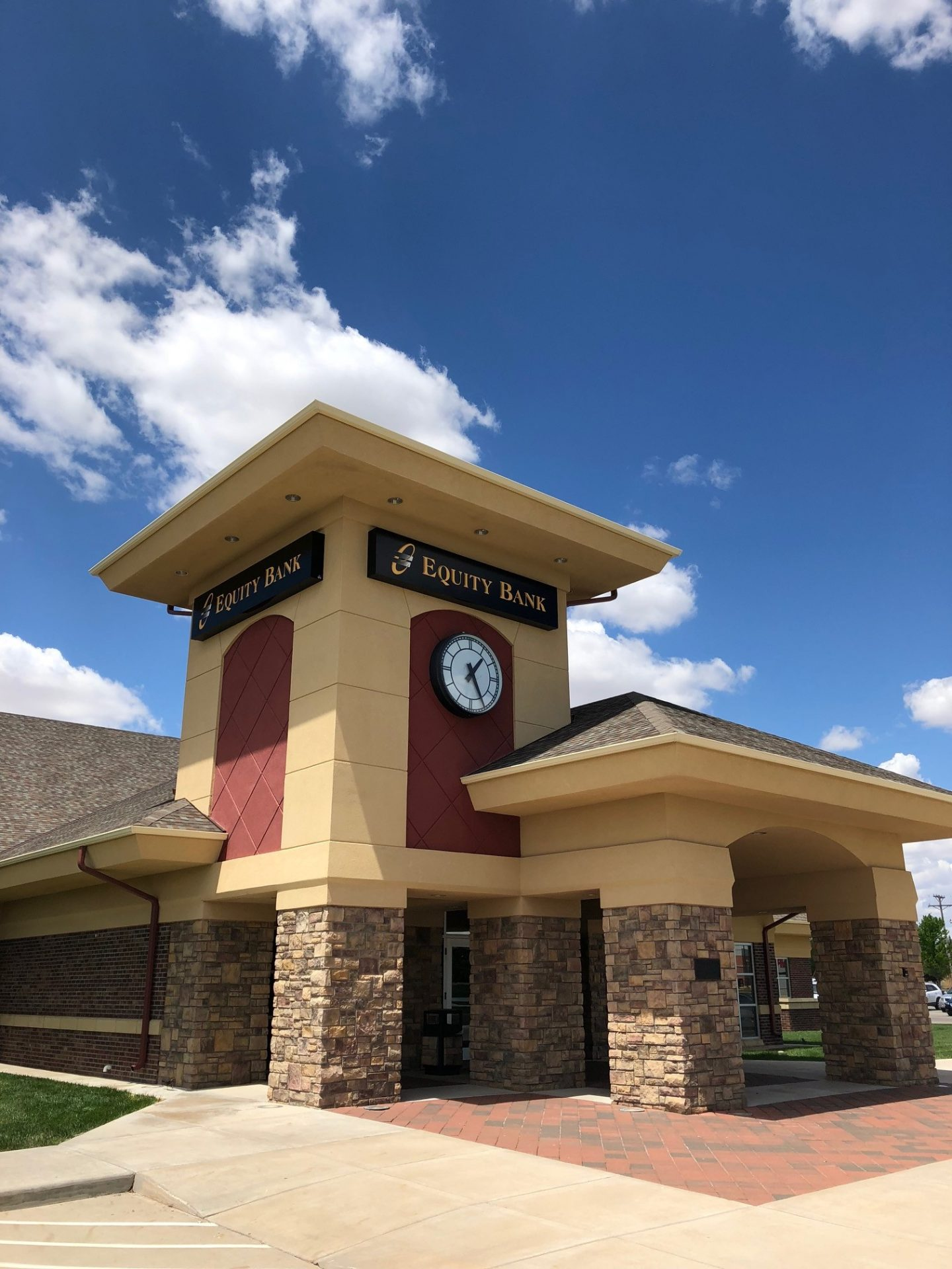 Equity Bank Liberal Lincoln Avenue branch exterior.