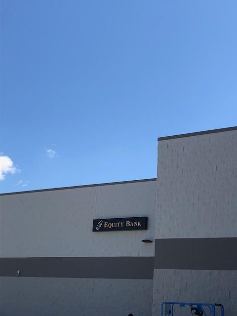 Equity Bank Liberal Walmart branch exterior.