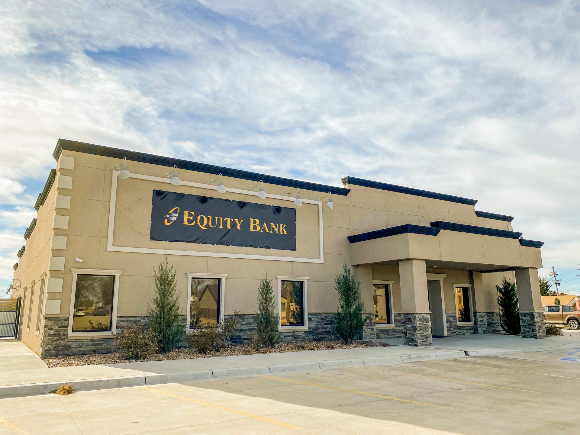 Equity Bank Norton branch exterior.