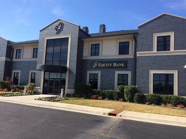 Equity Bank Tulsa branch exterior.